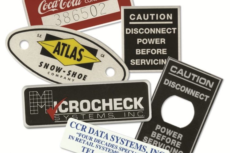 Autograph Nameplate Asset Tags