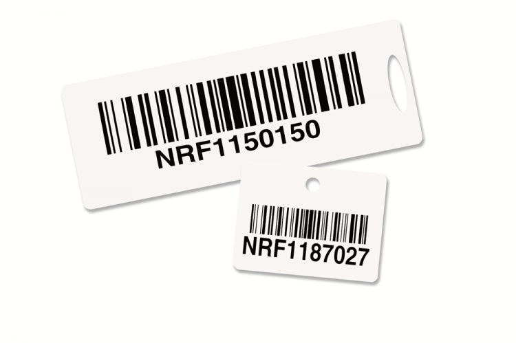 Hang Tag Barcode Labels