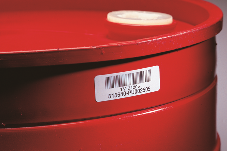 Durable Container Label